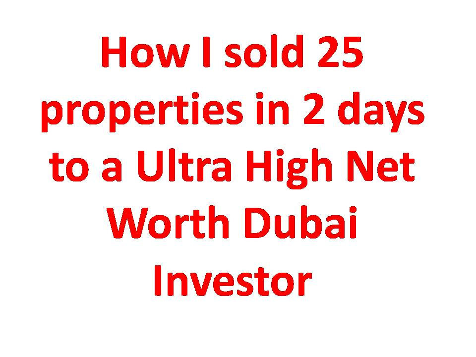 How I sold 25 properties