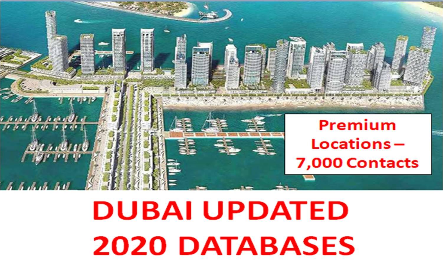 Dubai 2020 Databases