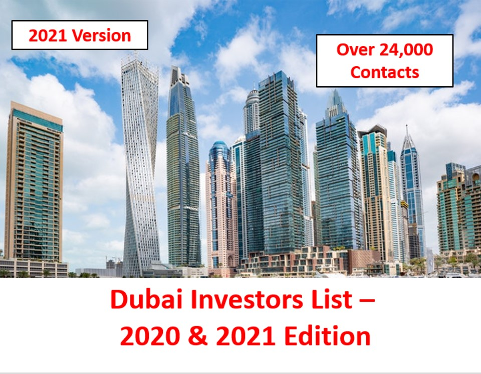 Dubai Investors List 2021