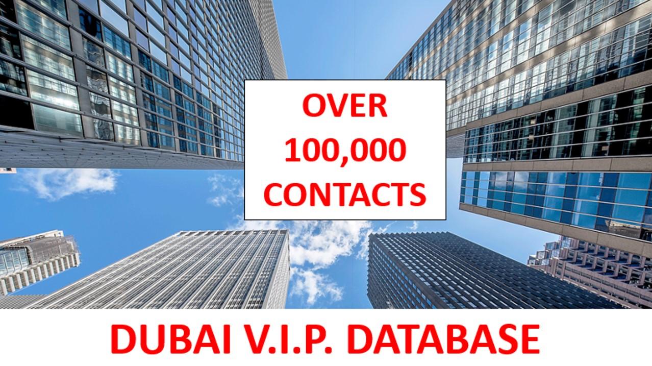 Dubai VIP Database